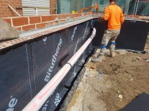 Primary School | Retaining wall