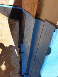 Medical Facility   Retaining wall