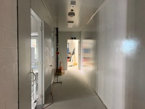 Manufacturing Facility   Epoxy coating