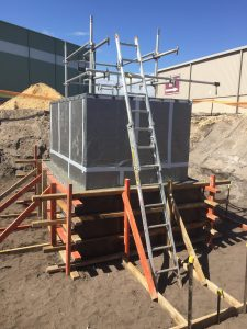 Fabrication Facility   Underground pit