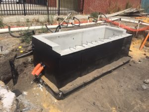 Manufacturing Facility | Electrical pit